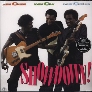 ALBERT COLLINS, ROBERT CRAY & JOHNNY COPELAND - Showdown - 33T