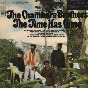 CHAMBERS BROTHERS - Time Has Come Today - 33T