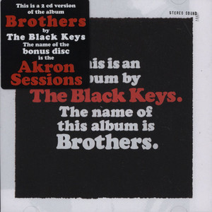 BLACK KEYS, THE - Brothers - CD x 2