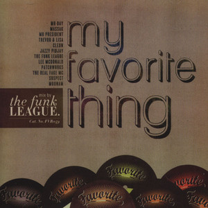 FUNK LEAGUE, THE - My Favorite Thing - CD