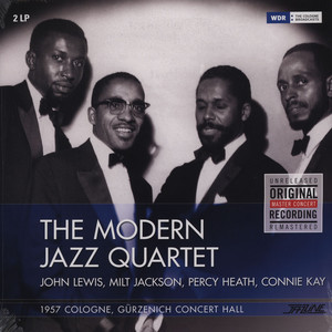 MODERN JAZZ QUARTET, THE - 1957 Cologne - 33T