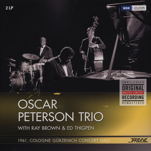 OSCAR PETERSON TRIO WITH RAY BROWN & ED THIGPEN - 1961 Cologne - LP