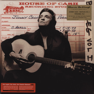 JOHNNY CASH - Bootleg 1: Personal File - 33T