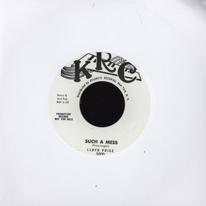 LLOYD PRICE - Such A Mess / The  Chicken & The Bop - 45T x 1