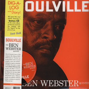 BEN WEBSTER QUINTET - Soulville - 33T