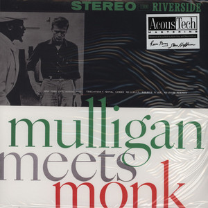 GERRY MULLIGAN MEETS THELONIOUS MONK - Gerry Mulligan meets Thelonious Monk - 33T x 2