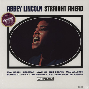 ABBEY LINCOLN - Straight Ahead - LP
