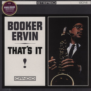 BOOKER ERVIN - That's It! - 33T