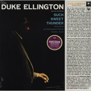 DUKE ELLINGTON & ORCHESTRA - Such Sweet Thunder - 33T