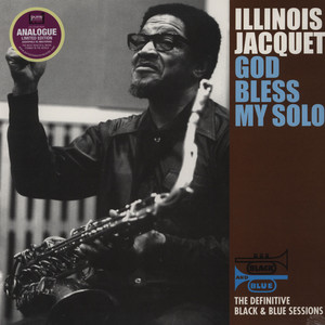 ILLINOIS JACQUET - God Bless My Solo - 33T