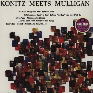 LEE KONITZ & GERRY MULLIGAN - Konitz Meets Mulligan - LP
