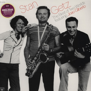 STAN GETZ FEATURING JOAO GILBERTO - Stan Getz featuring Joao Gilberto - 33T