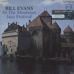Bill Evans Bill Evans At The Montreux Jazz Festival LP