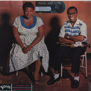ELLA FITZGERALD AND LOUIS ARMSTRONG - Ella & Louis - 33T