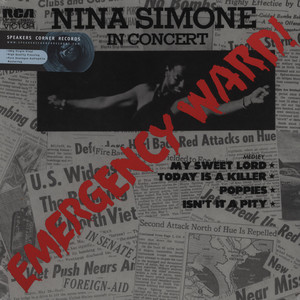 NINA SIMONE - Emergency Ward! - LP