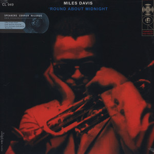 MILES DAVIS QUINTET, THE - Round About Midnight - 33T