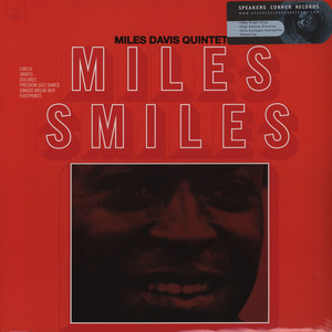 MILES DAVIS QUINTET, THE - Miles Smiles - 33T