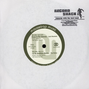 JACK HAMMER / THE DUKES - Down In The Subway / I'm An Unskilled Worker - 7inch x 1