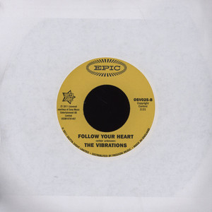 VIBRATIONS, THE - Cause You're Mine Follow Your Heart - 7inch x 1