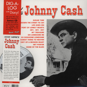 JOHNNY CASH - Now Here's Johnny Cash - 33T