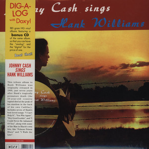 JOHNNY CASH - Sings Hank Williams And Other Favorite Tunes - 33T