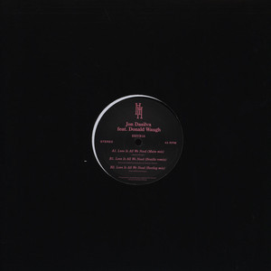 JON DASILVA - Love Is All We Need - 12 inch x 1