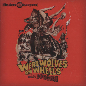 DON GERE - Werewolves On Wheels - CD