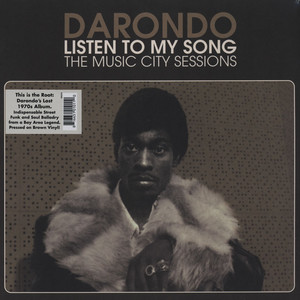 DARONDO - Listen To My Song: The Music City Sessions - LP