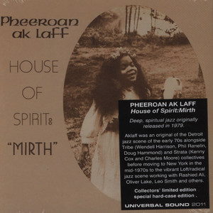 PHEEROAN AKLAFF - House of Spirit: Mirth - CD