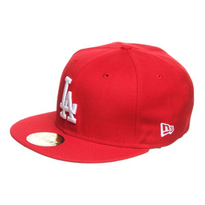 Mlb Los Angeles Dodgers Scarlet With White