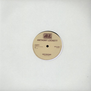 ANTHONY LOCKETT - Decisions - 12 inch x 1