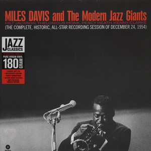 MILES DAVIS - And The Modern Jazz Giants - 33T