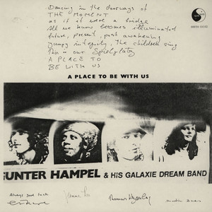 GUNTER HAMPEL & HIS GALAXIE DREAM BAND - A Place To Be With Us - LP