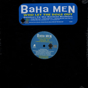 BAHA MEN - Who Let The Dogs Out - 12 inch x 1