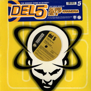 DEL 5 - The Biggest Thing In Detroit - 12 inch x 1