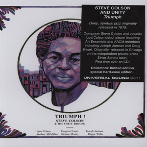 STEVE COLSON & THE UNITY TROUPE - Triumph! - CD