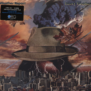 WEATHER REPORT - Heavy Weather - LP x 2 