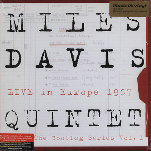 MILES DAVIS - Bootleg Series 1 Live In Europe '67 - 33T x 3