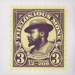 THELONIOUS MONK - Unique Thelonious Monk - 33T