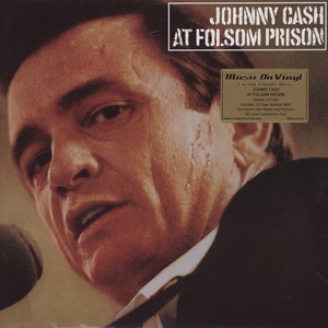 JOHNNY CASH - At Folsom Prison - 33T x 2