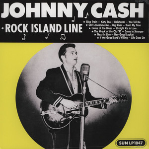 JOHNNY CASH - Rock Island Line - 33T