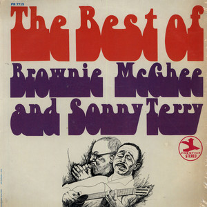 BROWNIE MCGHEE & SONNY TERRY - The Best Of Brownie McGhee And Sonny Terry - 33T