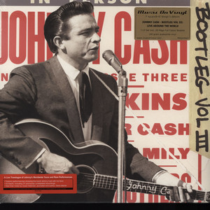 JOHNNY CASH - Bootleg 3: Live Around The World - 33T