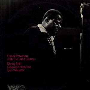 OSCAR PETERSON WITH THE JAZZ GIANTS - Oscar Peterson With The Jazz Giants - 33T x 2