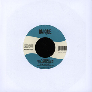 AL SUPERSONIC & THE TEENAGERS - Paint Yourself In The Corner - 7inch x 1