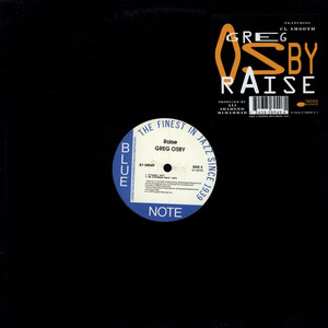 GREG OSBY - Raise feat. C.L. Smooth - 12 inch x 1