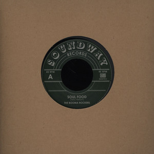 BOOMA ROCKERS, THE - Soul Food - 7inch x 1
