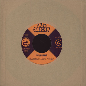 LARRY YOUNG JR. & HAROLD MARTIN - Wild Fire - 7inch x 1