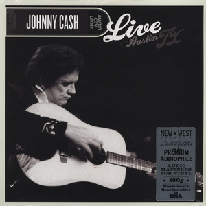 JOHNNY CASH - Live From Austin TX - 33T