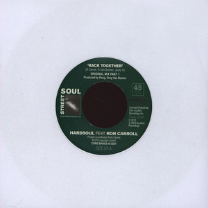 HARDSOUL - Back Together Chris Bangs 45 Edit Original Mix - 7inch x 1